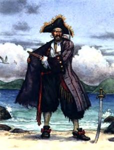 black bart roberts bartholomew pirate mustache