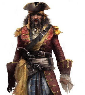 assassins creed 4 IV black bart roberts pirate