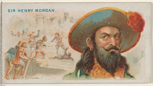 captain henry morgan with beard