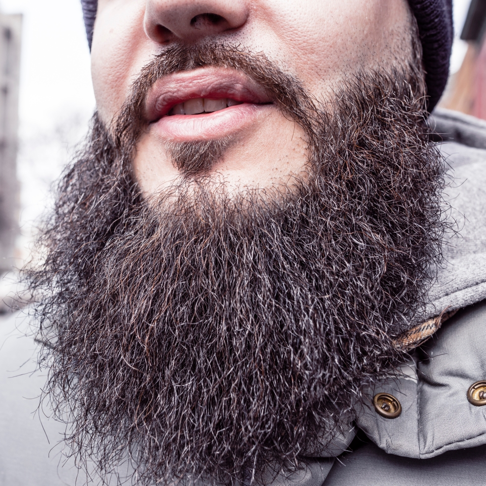 how to volumize your beard