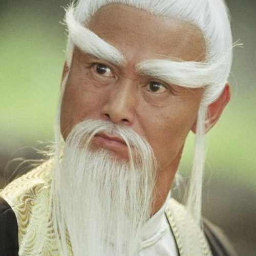 pai mei chinese bearded man